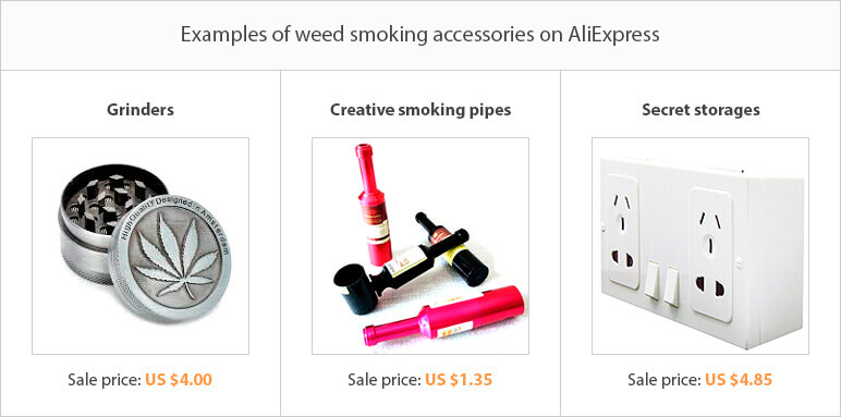 Weed smoking accessories