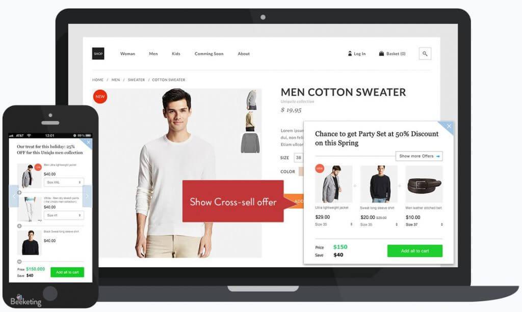 Shopify-boost-sales-app-laptop-iphone-man-wearing-white-shirt