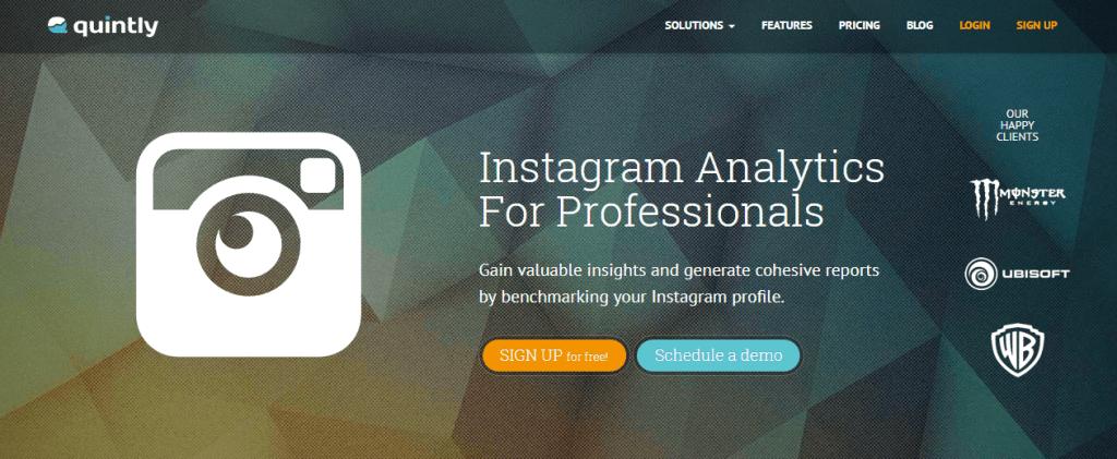 Instagram-analytic-professionapro-instagram-logo-white-text-orange-blue-button