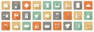 dropshipping-kitchen-niche-icon-orange-grey-green-color