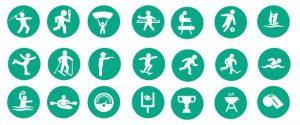dropshipping-niche-sport-green-icon