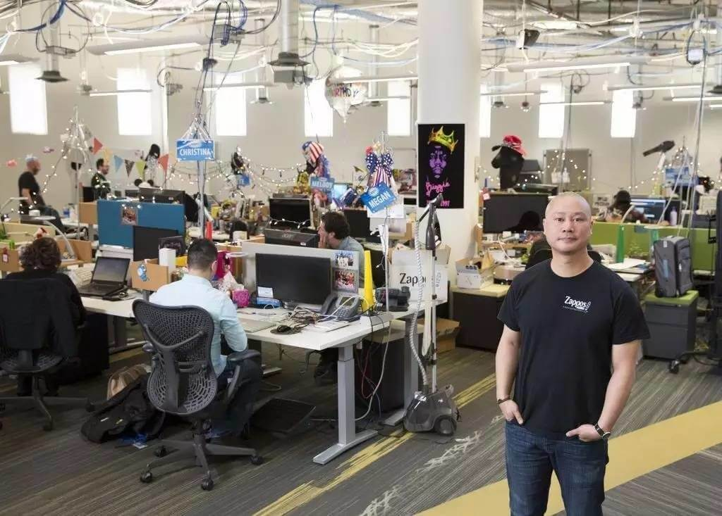 Zappos-team-human-head-office-working