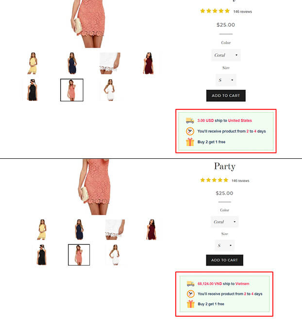 sales-box-types-of-dress-product-with-price-and-shipping-time