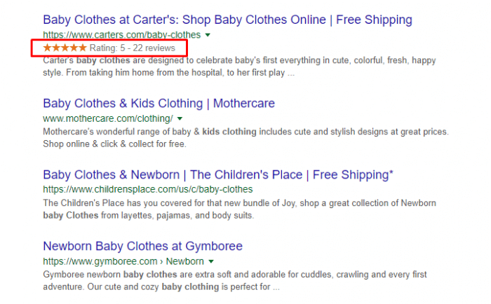 review-baby-clothing-on-google-search-result