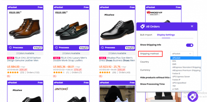 ali-order-help-show-aliexpress-product-page-shoes
