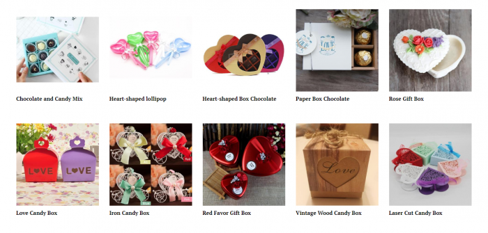 product ideas for dropshipping on Valentine's Day - Candy