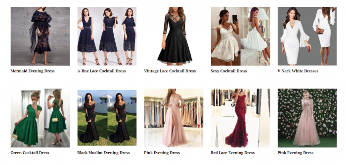 product ideas for dropshipping on Valentine's Day - Dating outfit