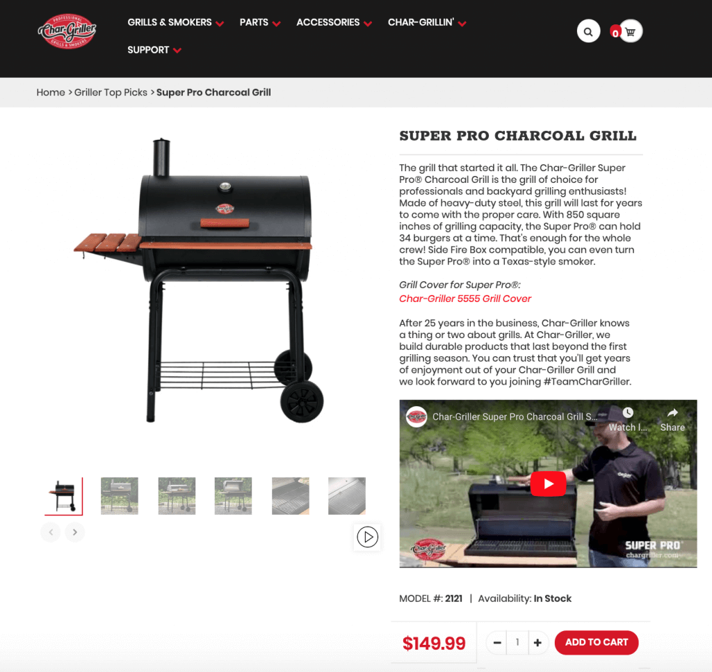 shopify-store-chargiller-charcoal-grill-feature-and-video-preview