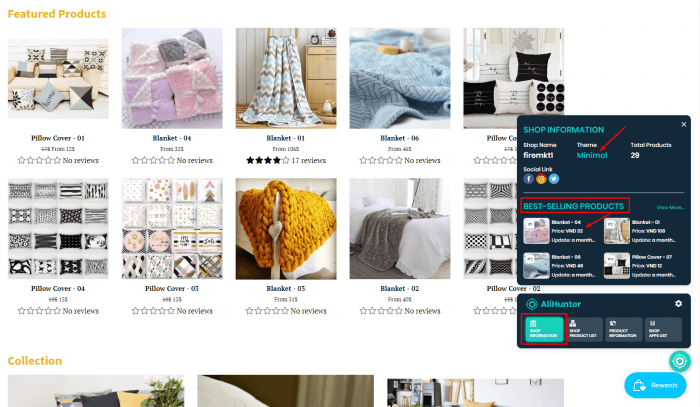 product-home-decor-shop-information