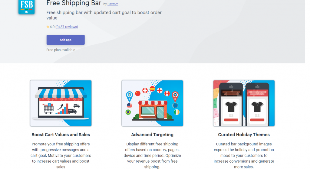 free-shipping-bar-is-one-of-the-best-free-shopify-apps