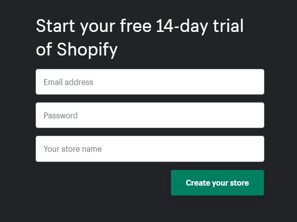 start-shopify-store