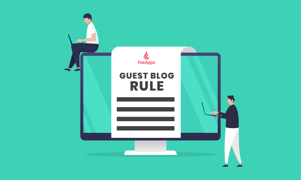Article guidelines for guest blogging on FireApps