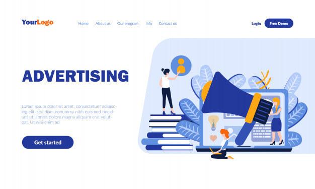 e commerce advertising for website