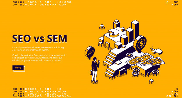 e-commerce website effect by SEO & SEM