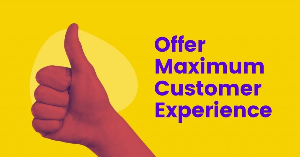 maximize your customer experience help get more traffic for your ecommerce store