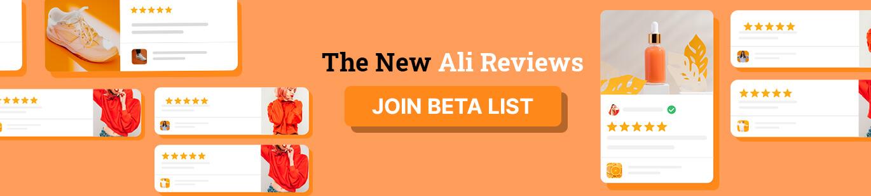 the new ali reviews widget 1370x310