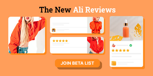 the new ali reviews widget 510x255