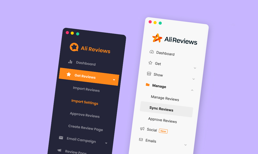 Getting to know all the powerful features on the new version of Ali Reviews
