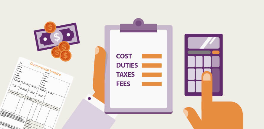 Taxes and duties for cross-border selling