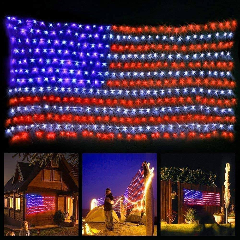 American Flag LED Lights