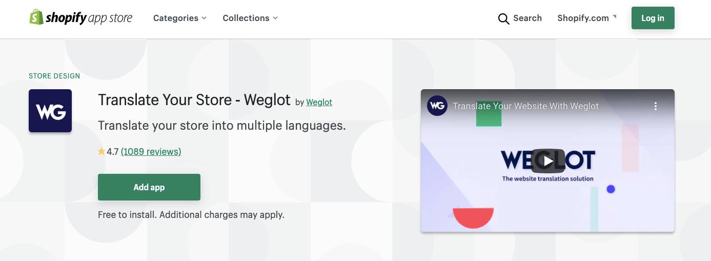 Weglot vs Transcy Shopify translation apps