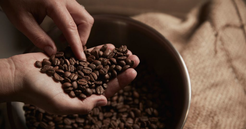 white label coffee beans