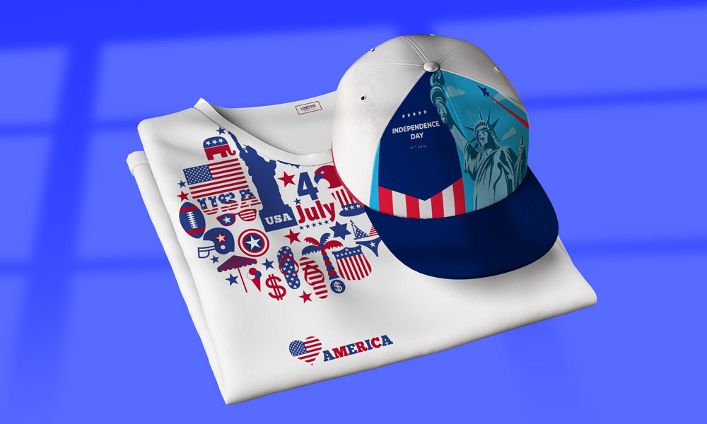 Best Patriotic Products and Designs for American Independence Day