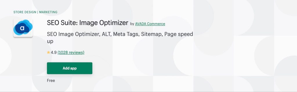 Add and optimize images