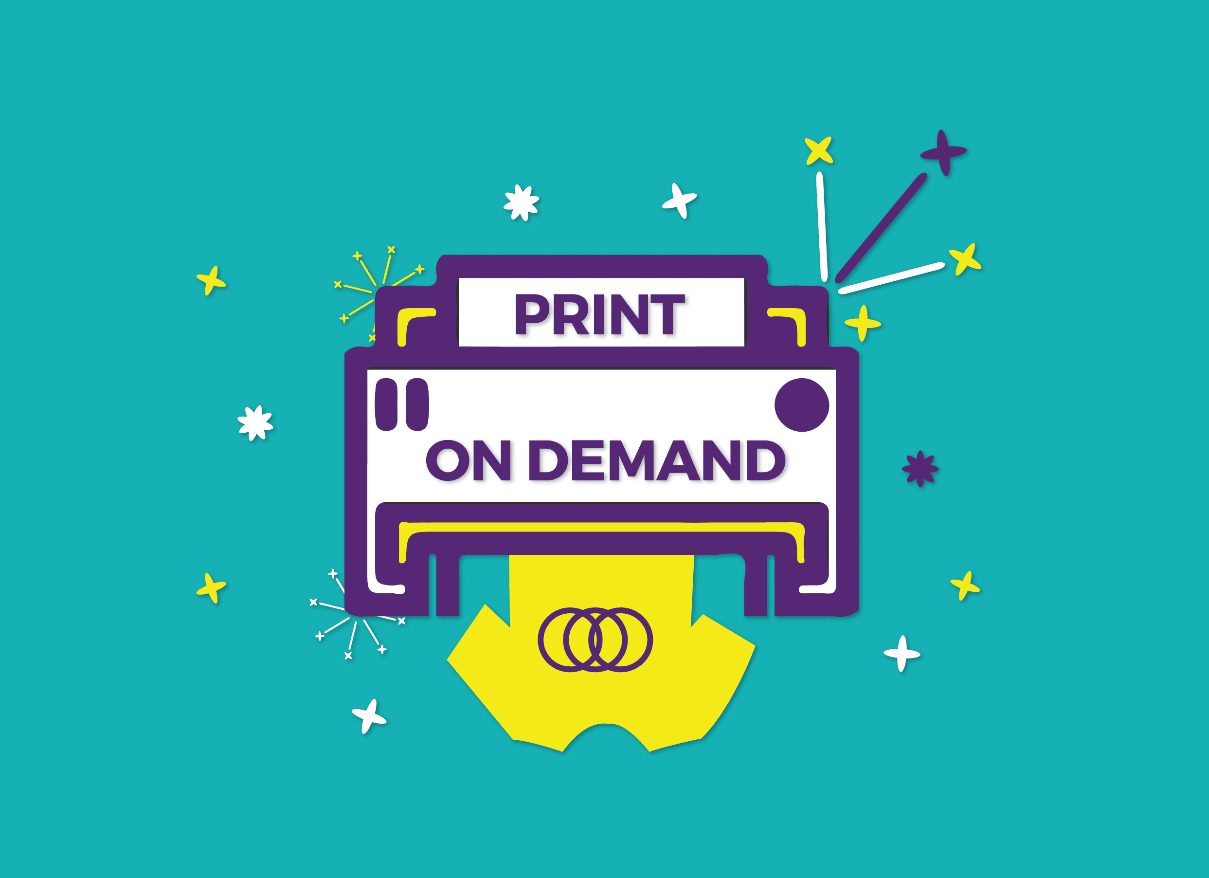 What is print-on-demand?