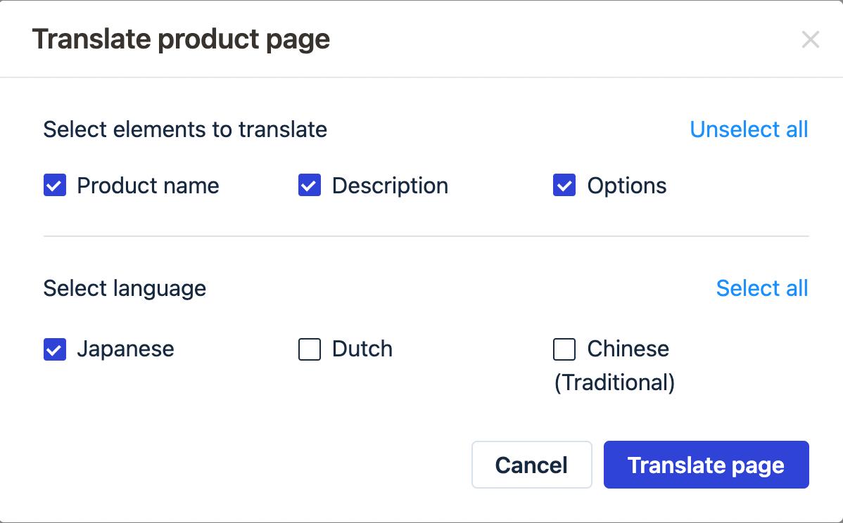 Edit content manually in Transcy app