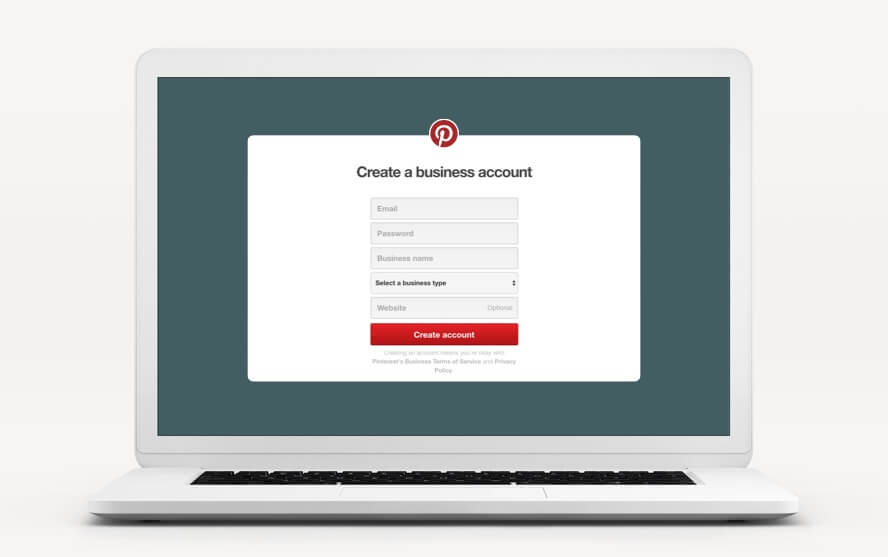 Set up your business account to sell on Pinterest