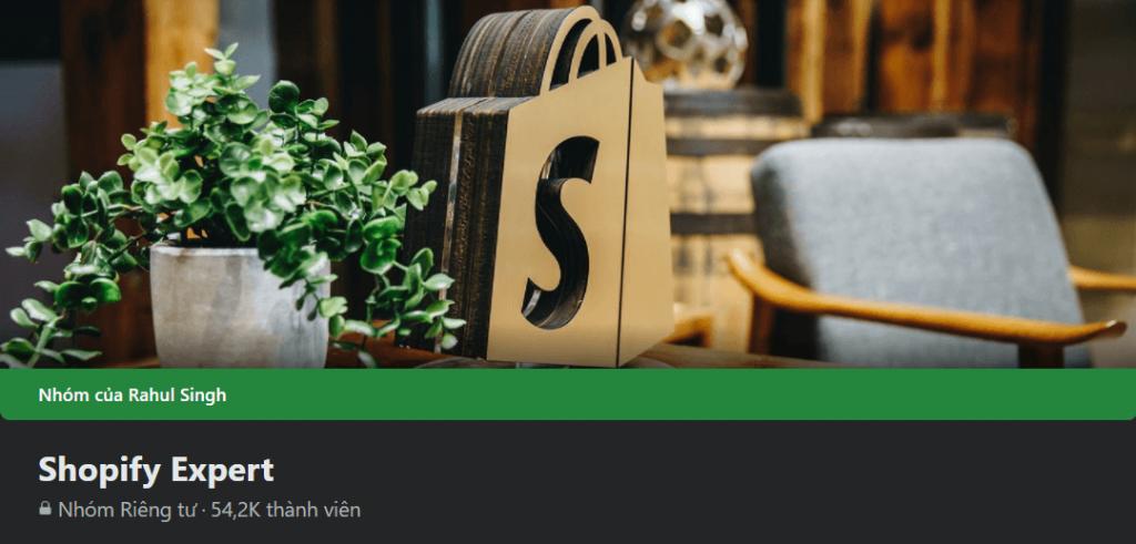 Facebook groups: Shopify Expert