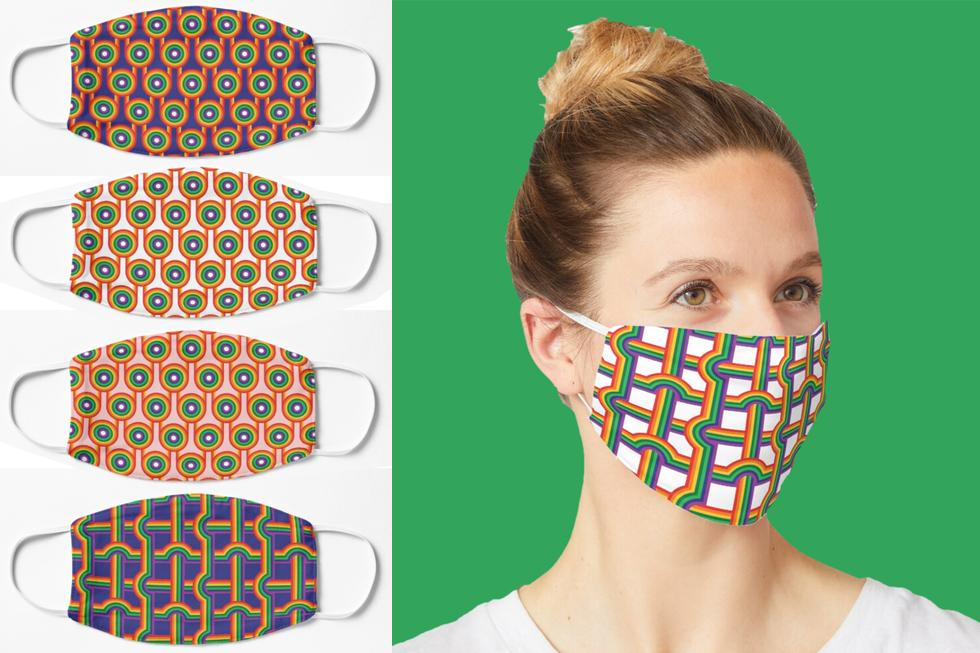 Print on demand products: face mask