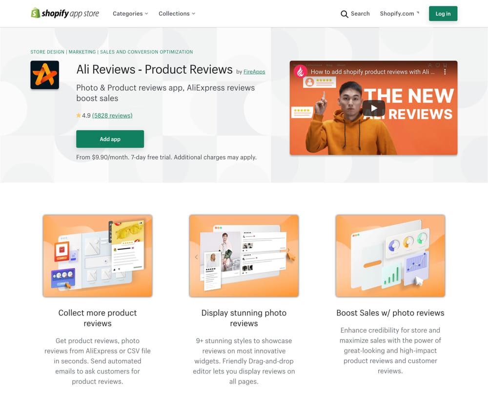 shopify app store ali reviews new logo