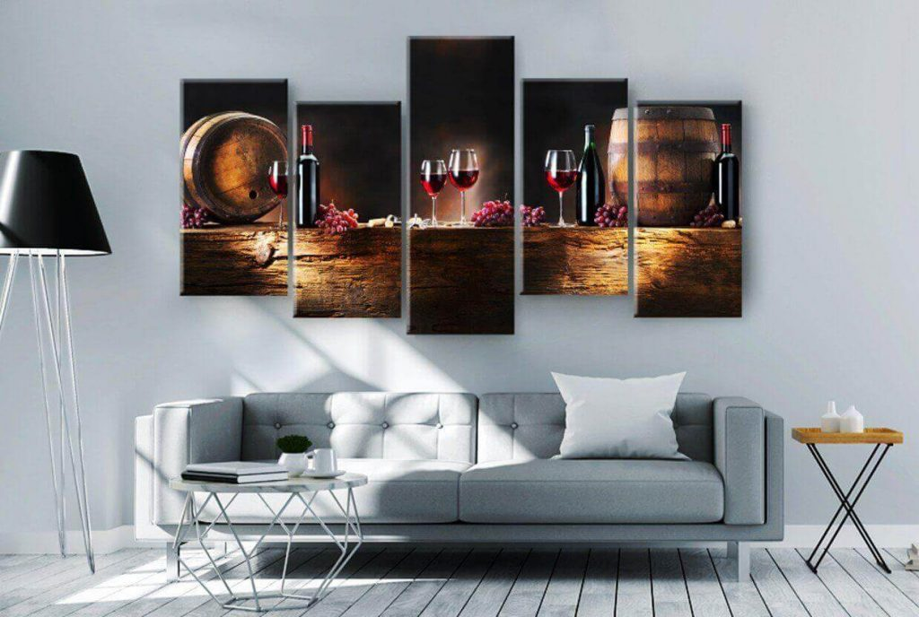 Print on demand products: wall art