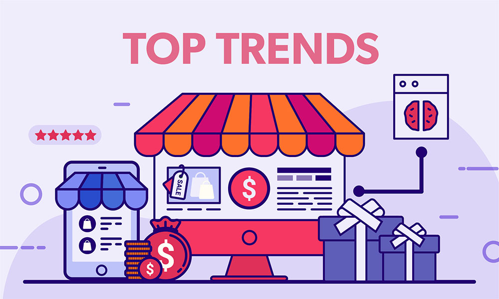 #1minread: Top 8 e-commerce trends to watch in the coming years (Infographic)