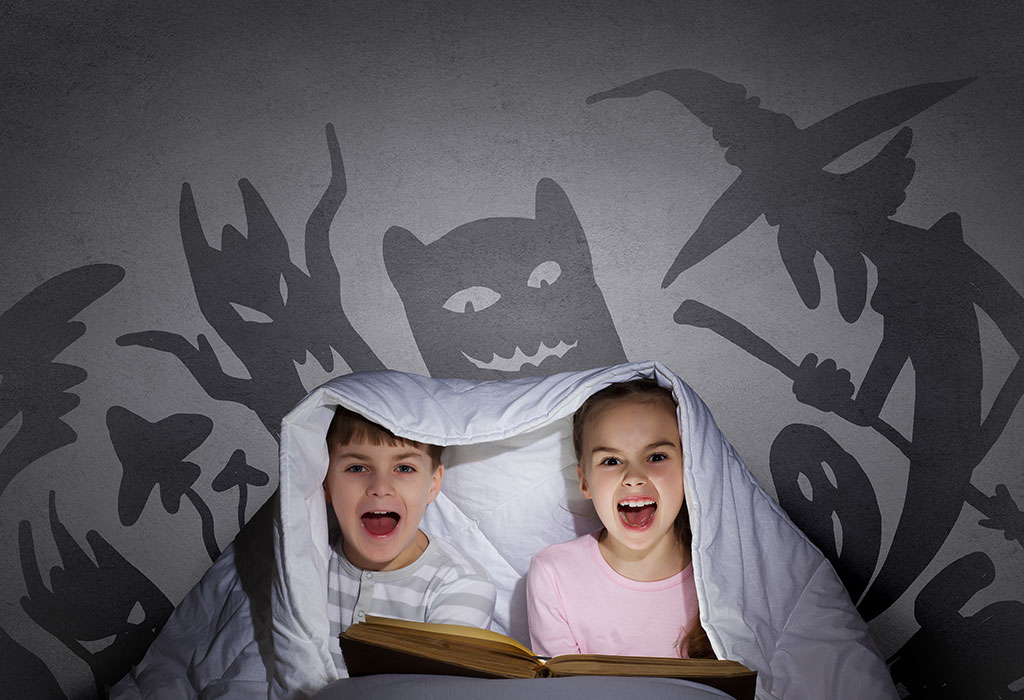 Tell a scary story