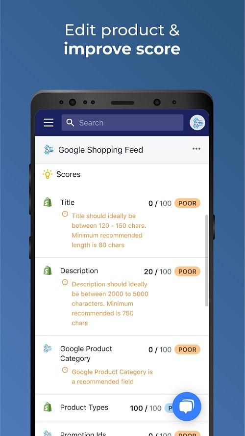 shopify google merchant center