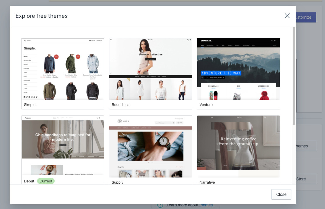 How to start a Shopify store in less than 1 hour 4