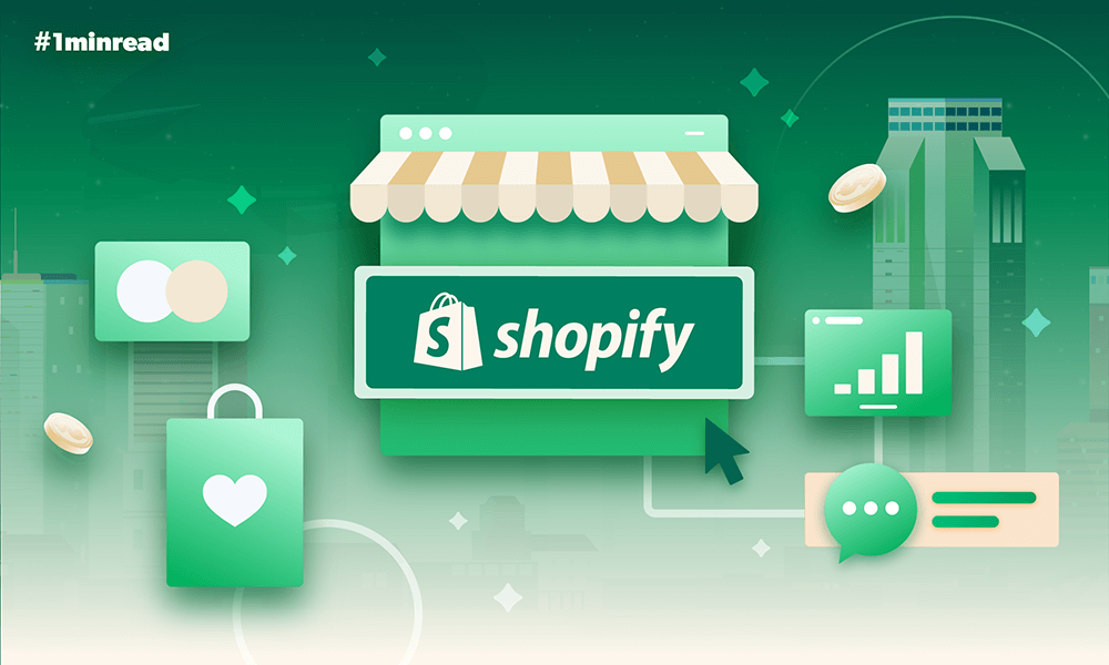 #1minread: 7 Interesting facts about Shopify you didn't know (Infographic)
