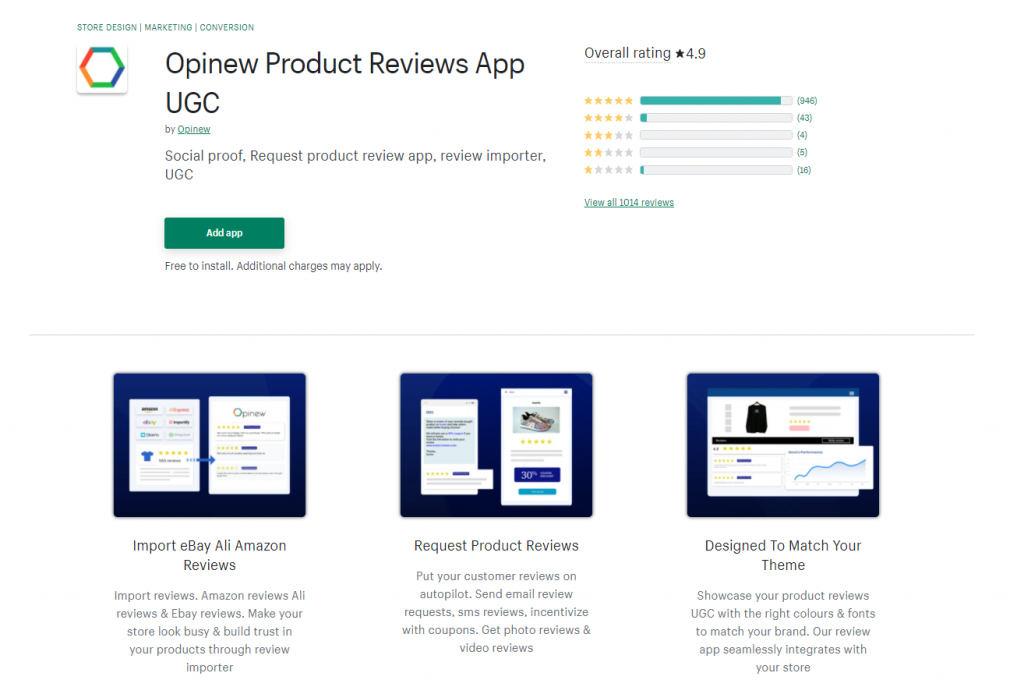 Shopify-product-review-opinew